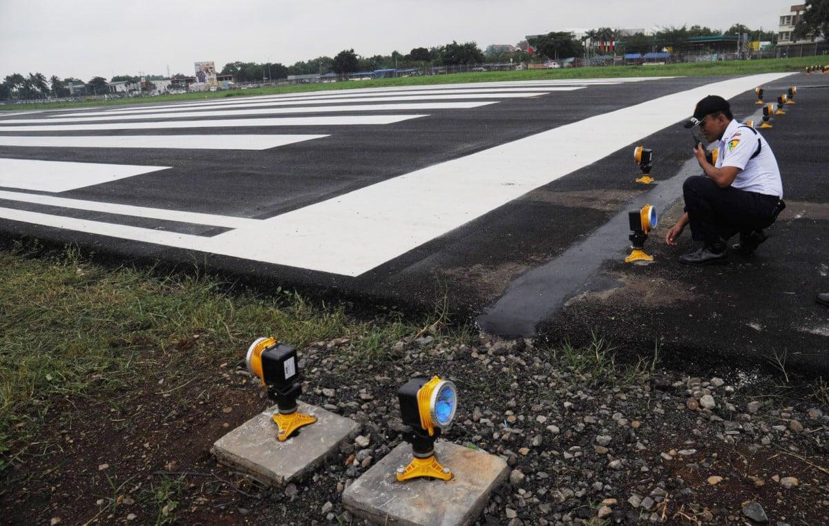 Landasan pacu Bandara Jenderal Besar Soedirman di Purbalingga | Sumber: Tirto