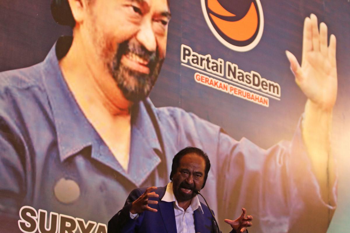 Surya Paloh Jagokan Gus Ipul-Khofifah di Pilgub Jatim 2018
