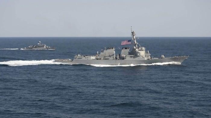 Cina-Rusia Siap Unjuk Kekuatan di Laut Cina Selatan