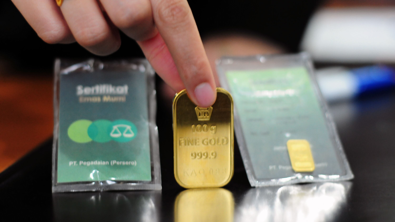 Harga 1 Gram Emas Pegadaian 25 Juni: Antam, Retro dan UBS - Tirto.ID