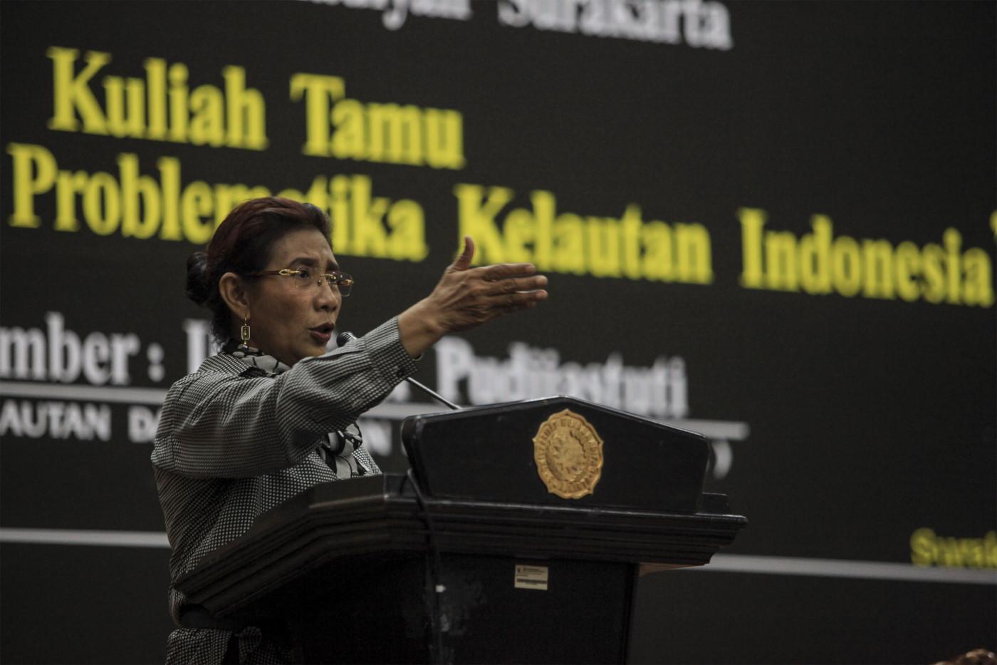 Menteri Susi Ajak Masyarakat Ikut Jaga Sumber Daya Kelautan