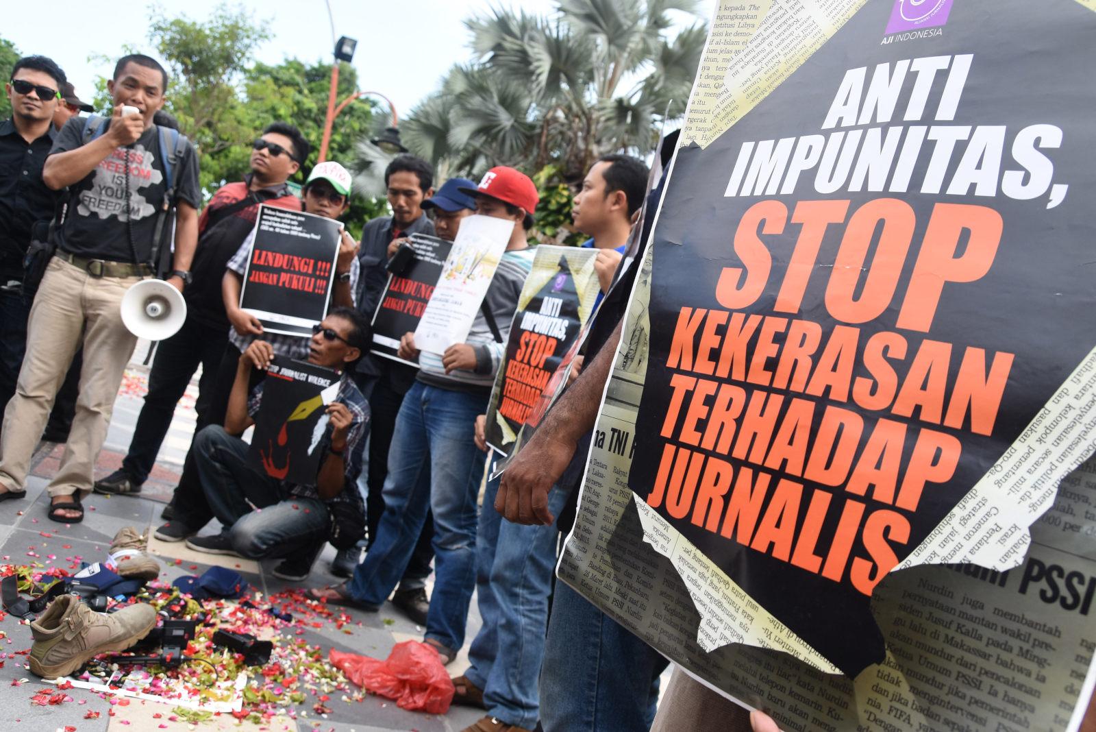AJI Kecam Tindakan Anggota FPI yang Pukul Jurnalis Tirto.id