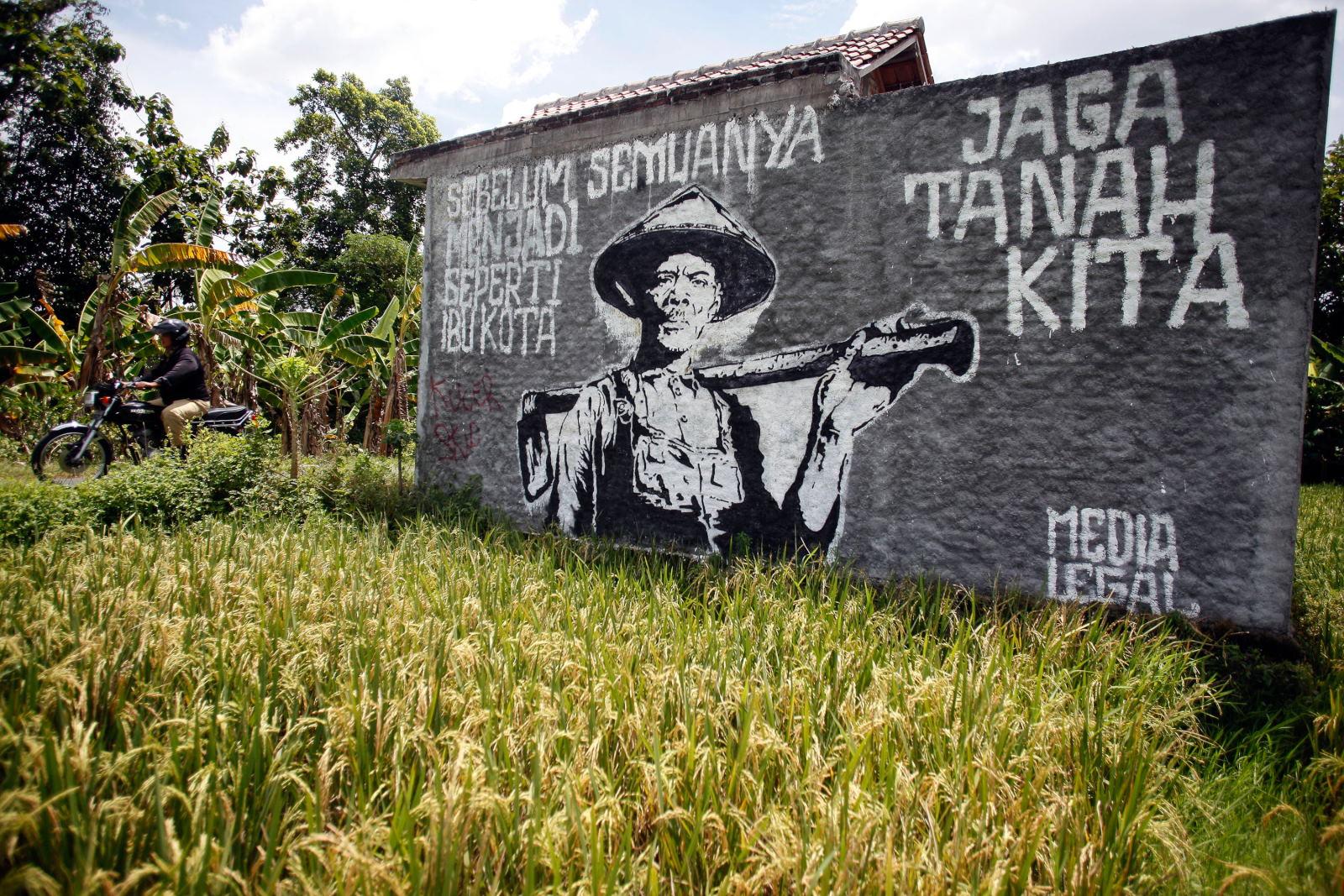 Alih Fungsi Lahan di Yogyakarta Capai 200 Hektar Per Tahun