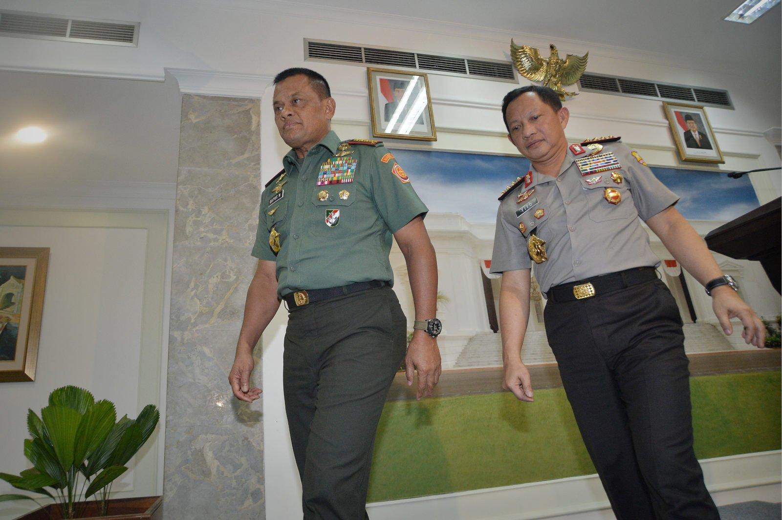 Jenderal Gatot Minta Maaf atas Pemukulan Polisi oleh TNI