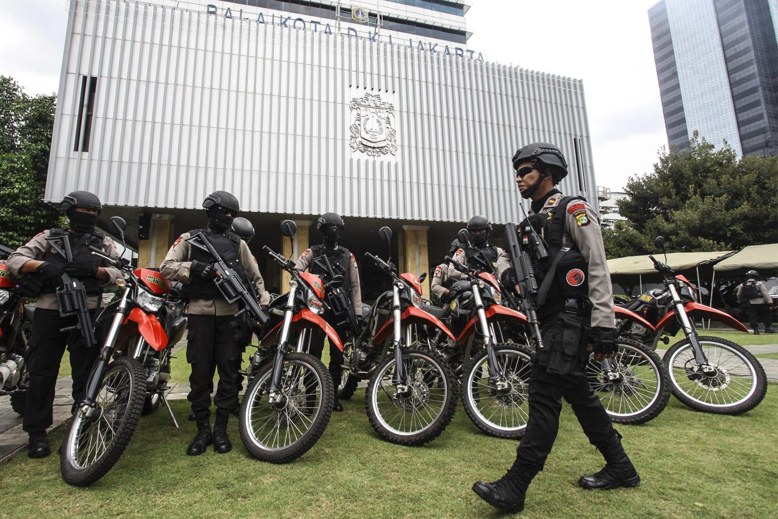760 Personel Amankan Balai Kota Jelang Demo 2 Desember