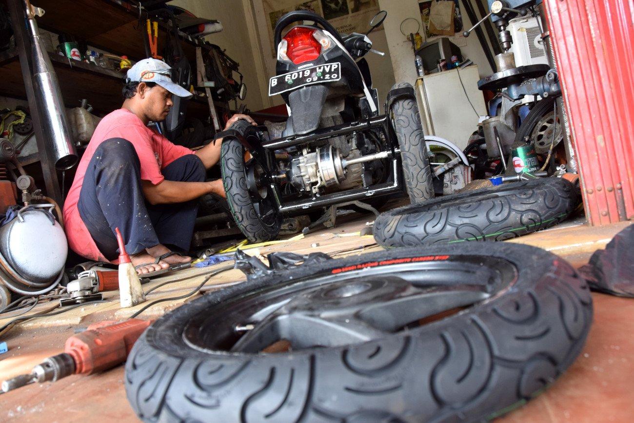 Ide 75 Bengkel Modifikasi Motor Roda Tiga Surabaya