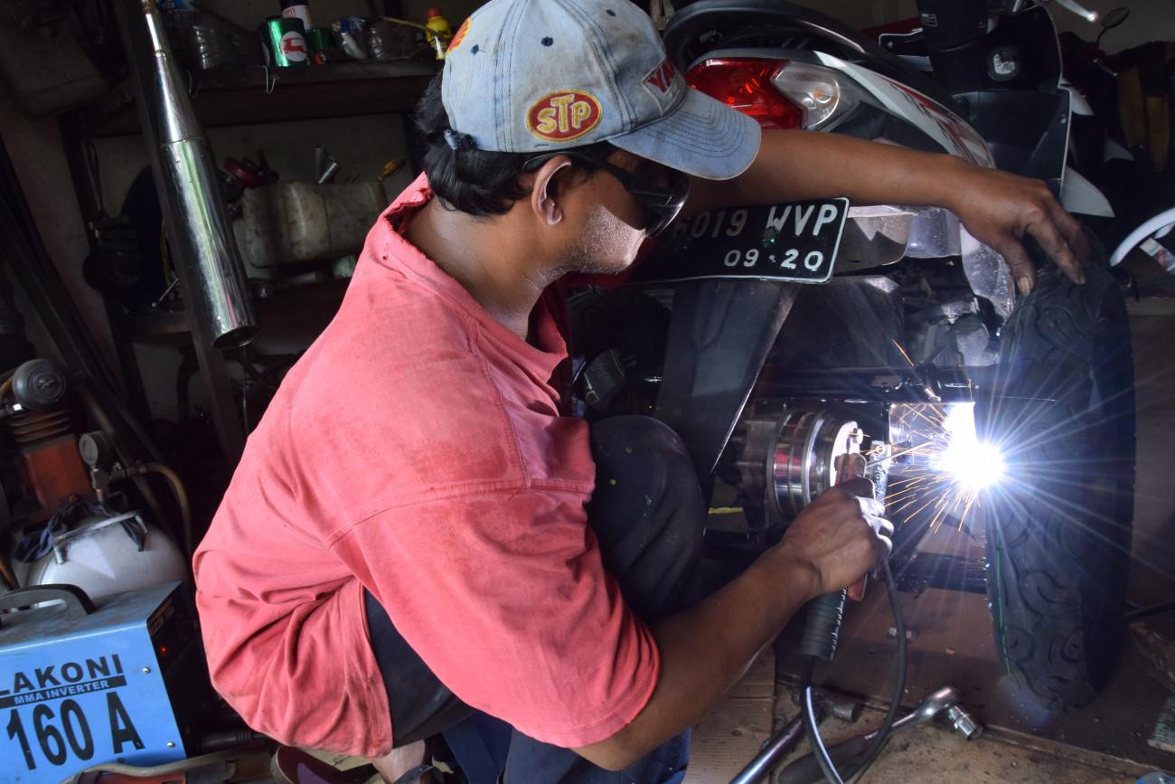 Modifikasi Motor Untuk Kaum Disabilitas