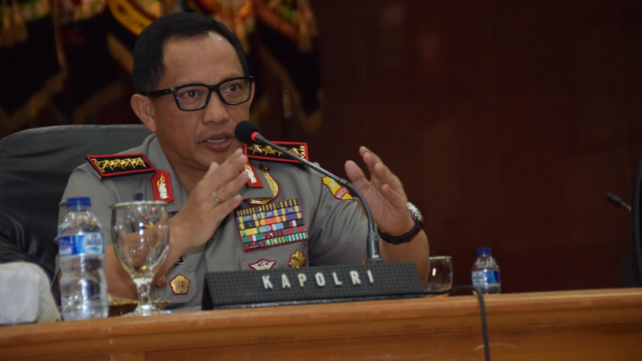 Kapolri akan Temui Pimpinan KPK Bahas Kasus Novel Siang Ini
