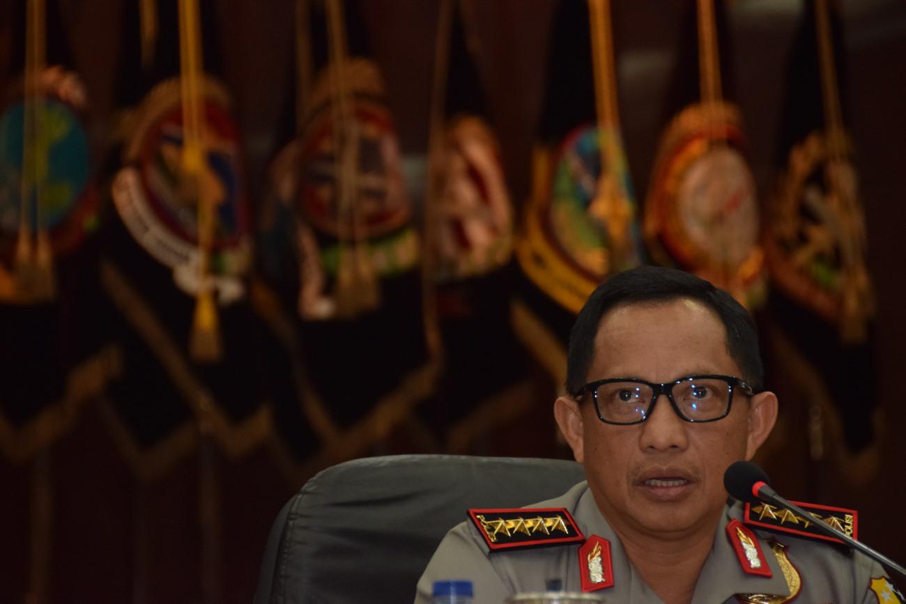 Kapolri: Pilkada Jabar, Kalbar, dan Papua Diperkirakan Rawan
