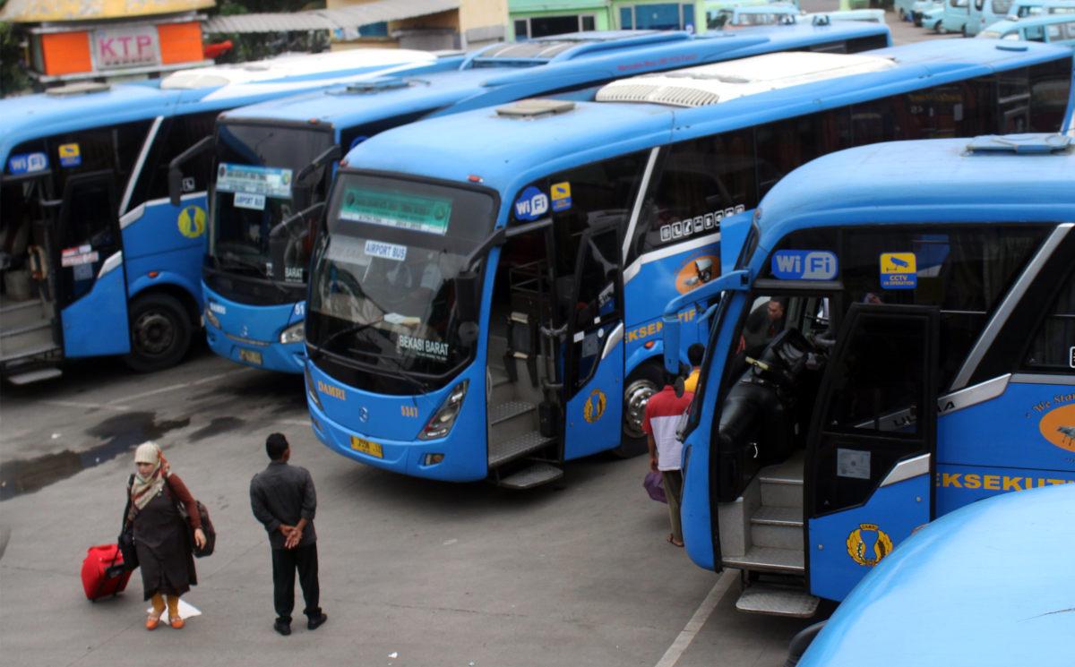 Taktik Damri Agar Tak Dilibas Kereta Bandara Soekarno Hatta Bus  Jakarta