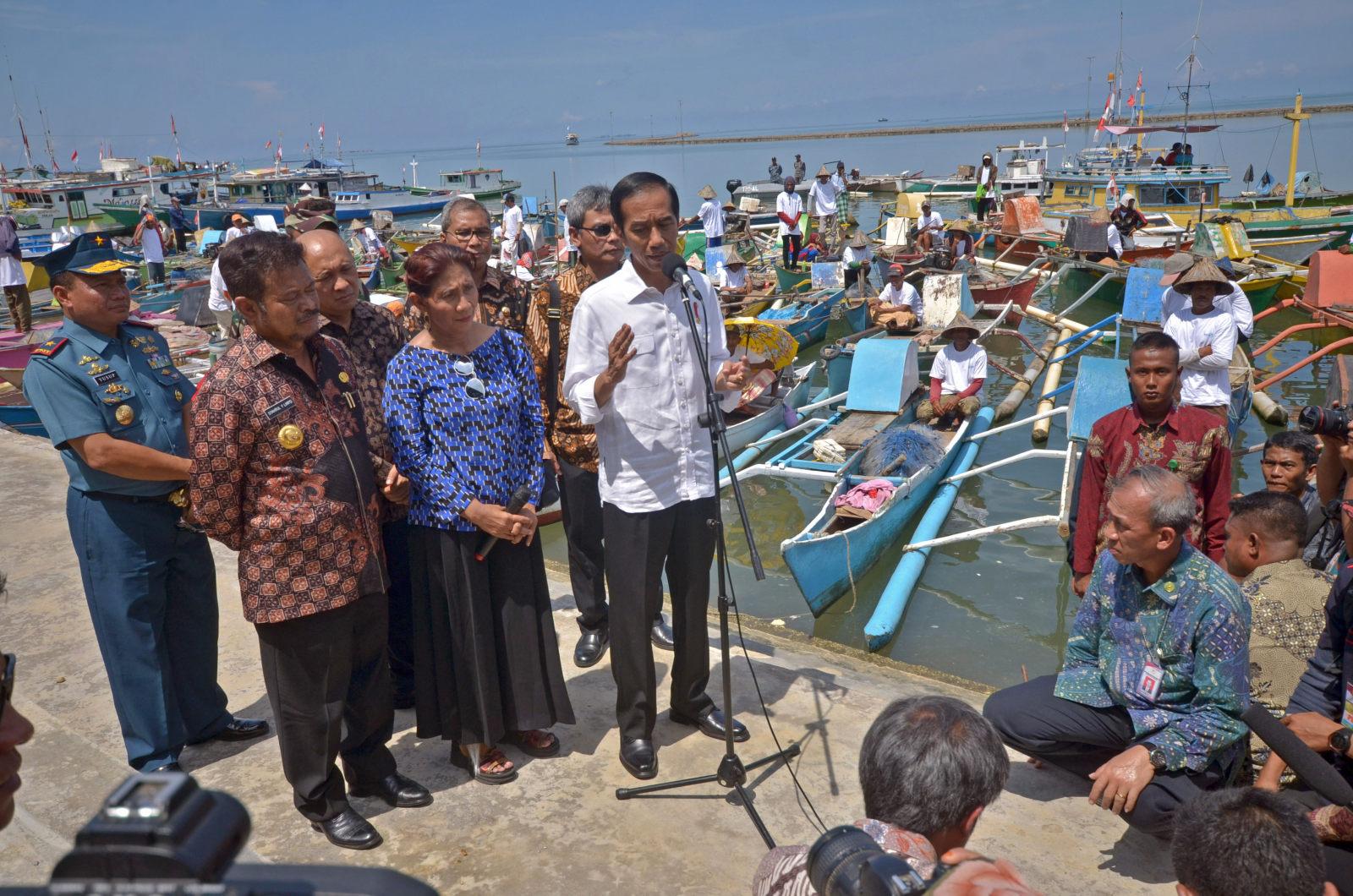 Jokowi Pilih Tinjau Proyek Saat Demo 2 Desember