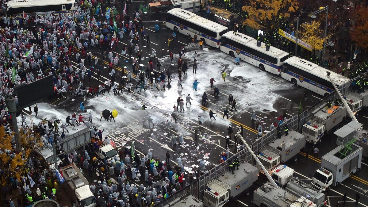 Badai Politik Korea Bisa Jatuhkan Presiden Park Geun-hye