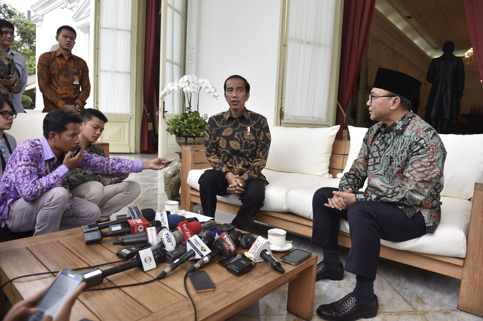 Jokowi Angkat Bicara Soal Penangkapan Terduga Makar
