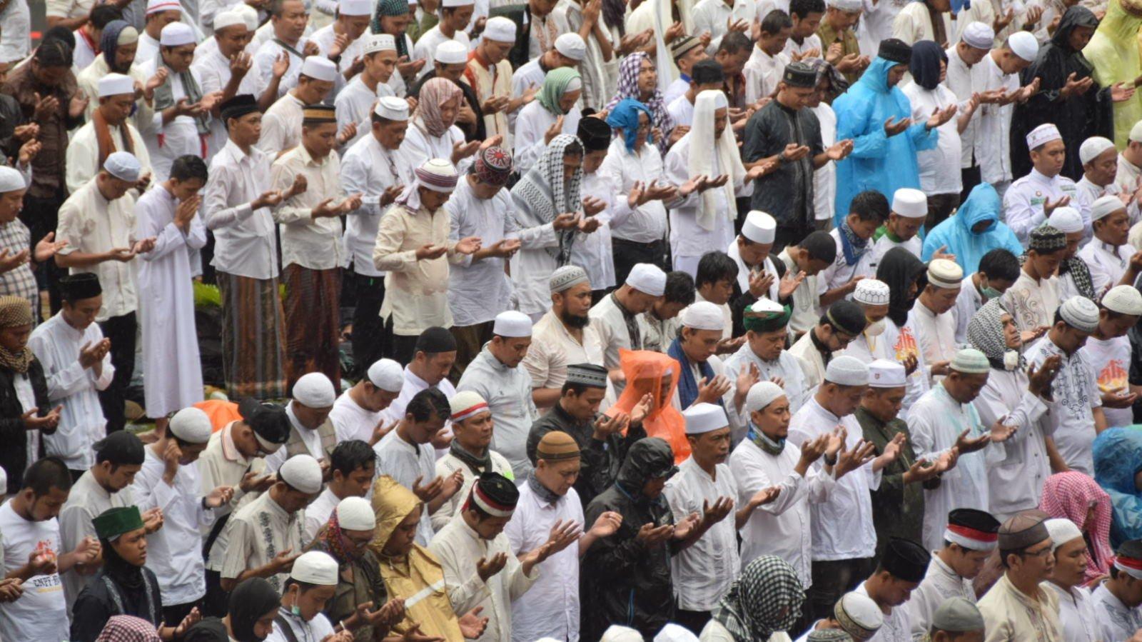 Aksi Bela Islam III Selesai, Massa Belum Bubar