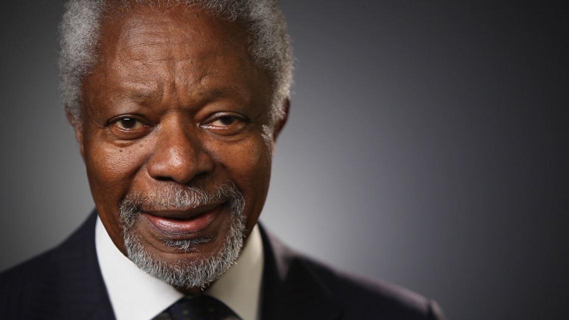 Kofi Annan Datangi Myanmar Bicarakan Krisis Rohingya