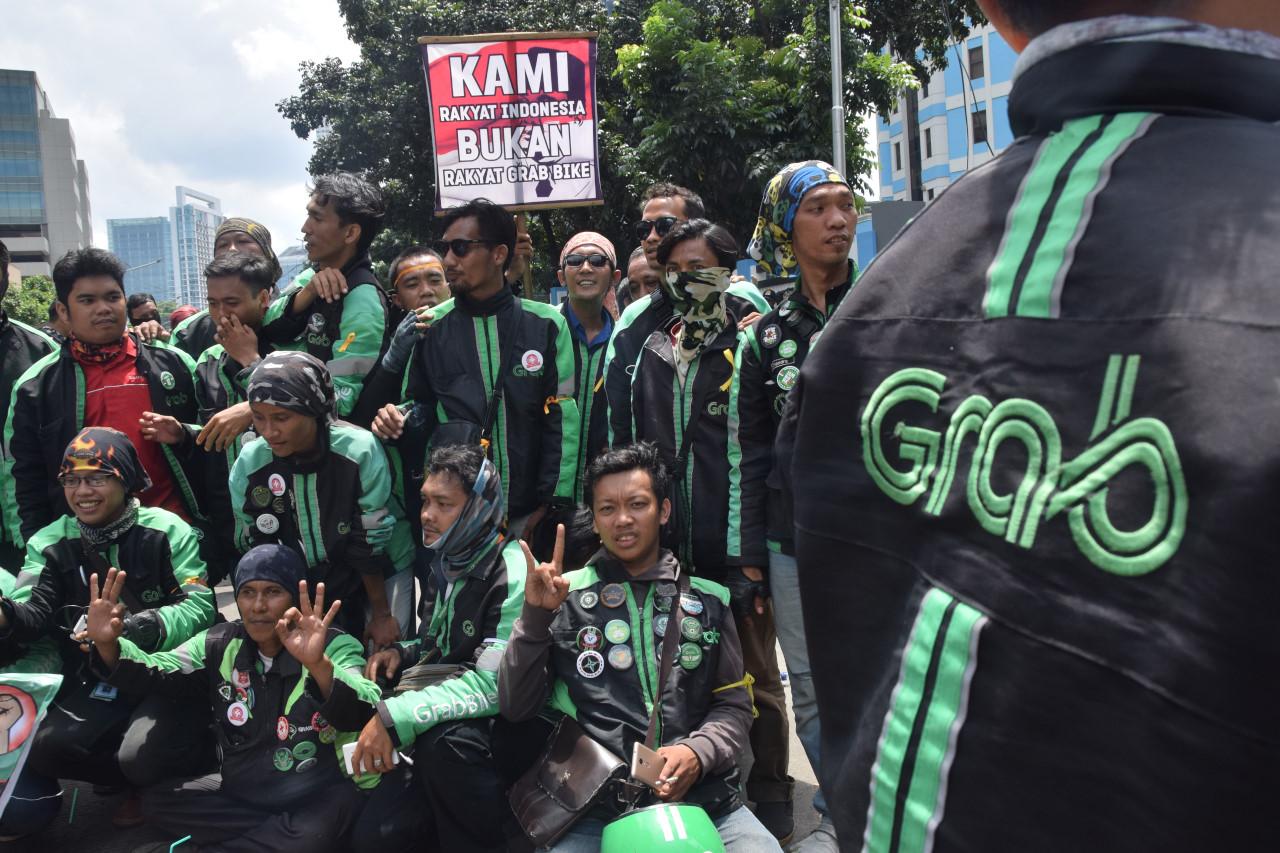 Grab Indonesia akan Temui Perwakilan Aksi Demo Minggu Depan