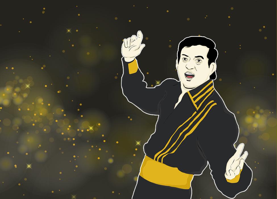 """""""Elvis Presley"""" yang Mengguncang Panggung Dangdut Indonesia"""