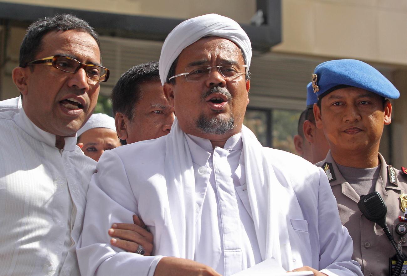 Kasus-Kasus yang Melibatkan Nama Rizieq Shihab