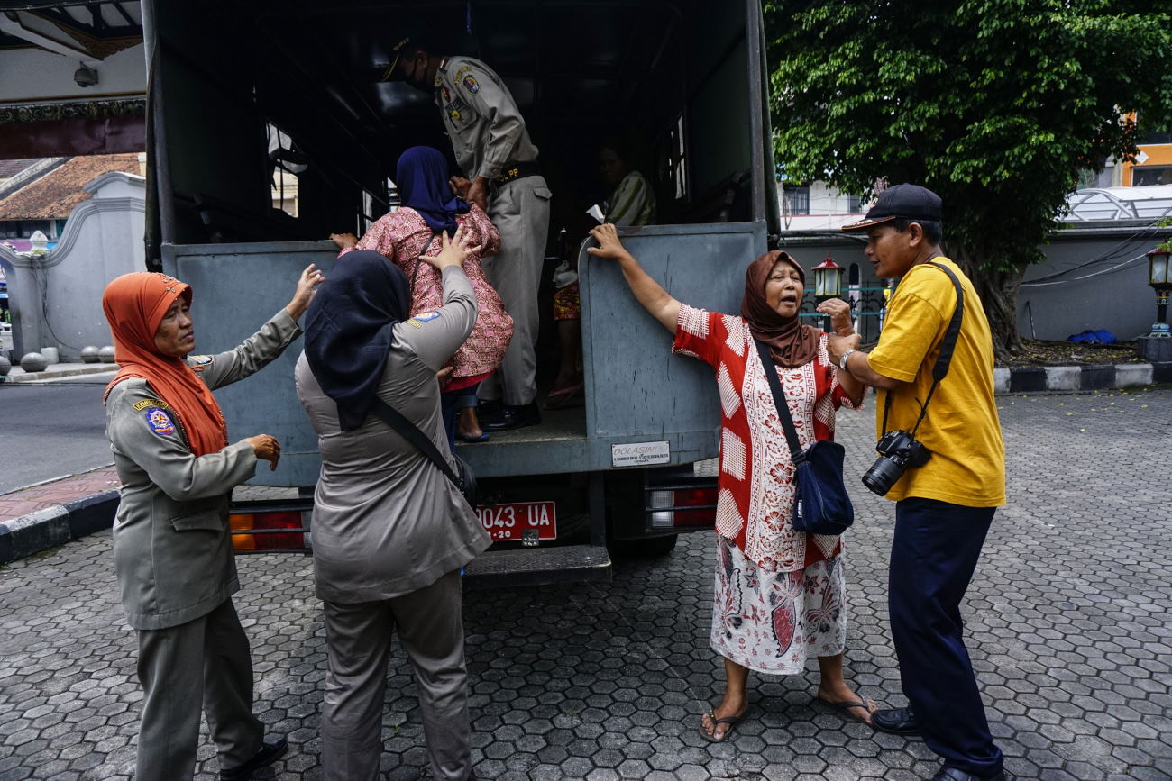 Dinsos DKI: Jumlah Pengemis Turun 30 Persen di Akhir Ramadan