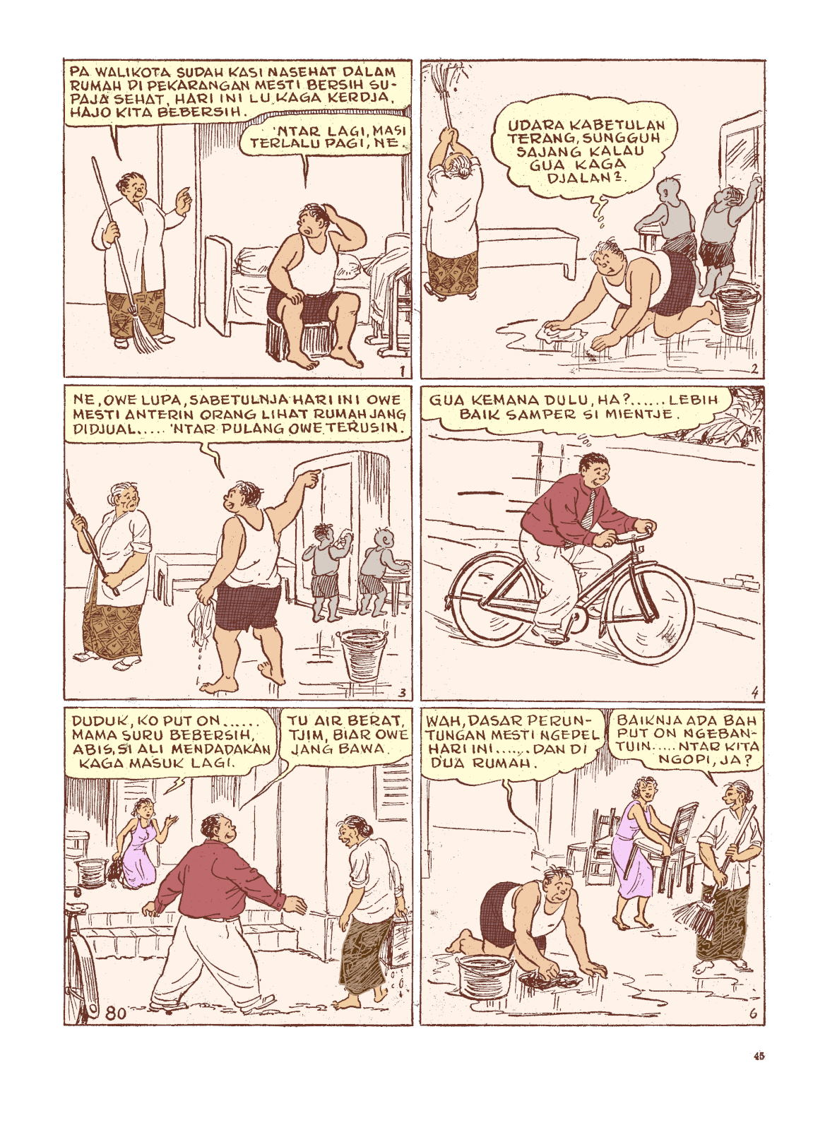 Komik Strip Put Terbit Pertama Kali Di Majalah Sin Po
