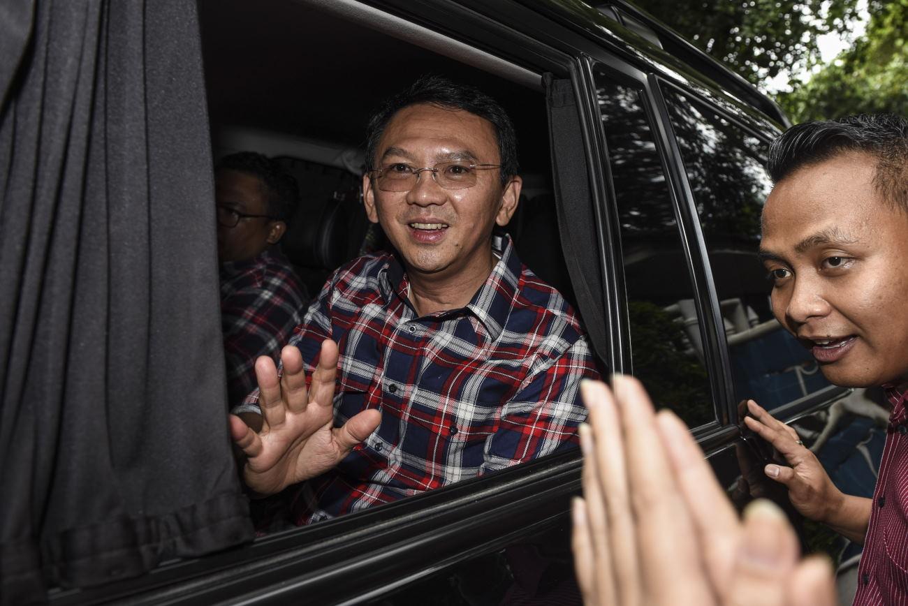 Ahok Soroti Para Saksi di TPS Jelang Pilgub Putaran Kedua