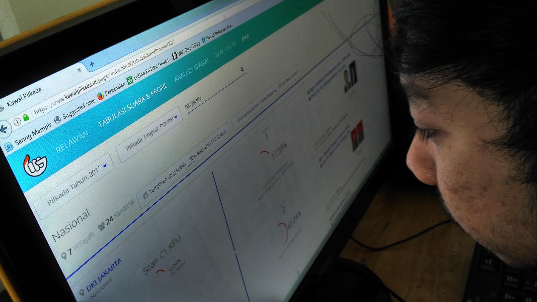 Berbagi Formulir C1 Crowdsourcing Ala Indonesia Tirto Id