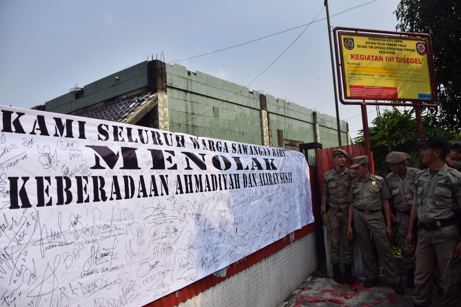 Komnas HAM Akui Legalitas Masjid Ahmadiyah