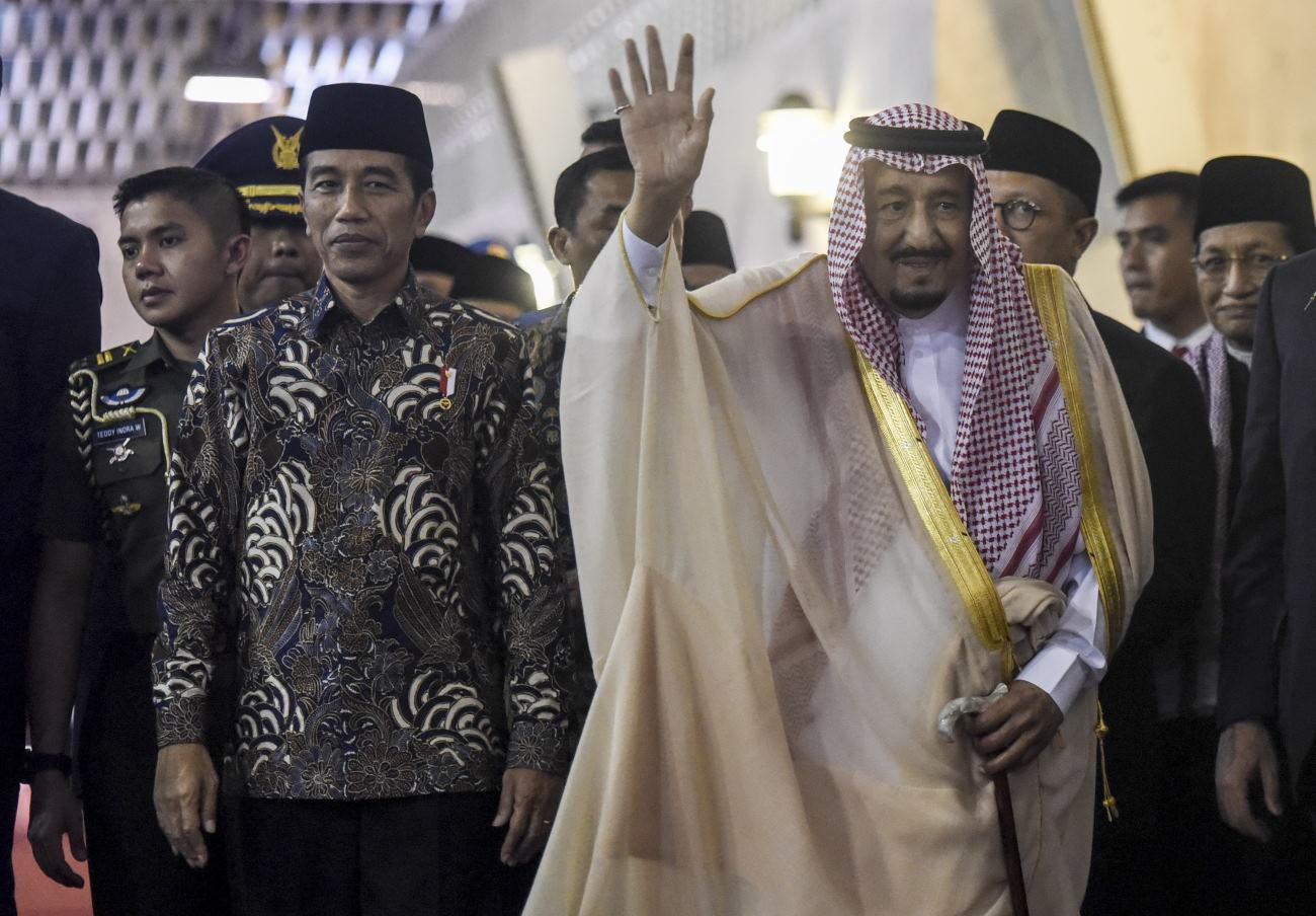 Peneliti dan Wartawan Rombongan Raja Salman Kunjungi LIPI