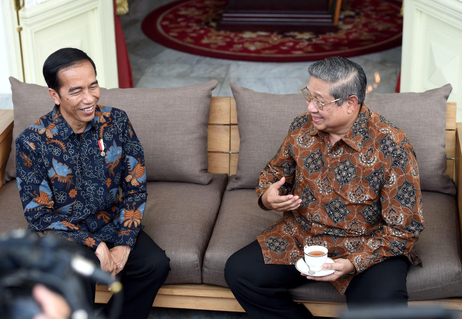 SBY Ajak Semua Pihak Bantu Jokowi Jaga Persatuan Bangsa