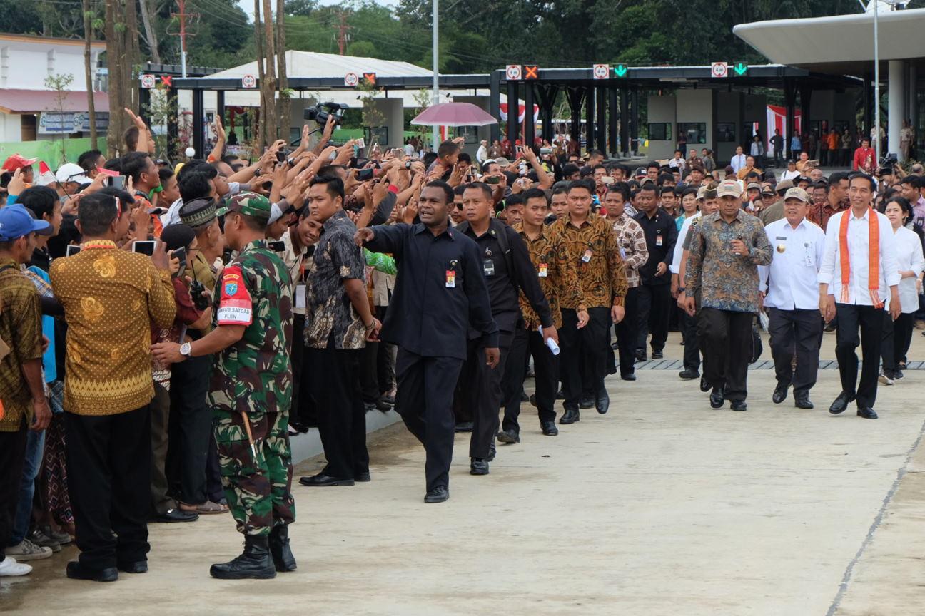 Mobil Dinas Jokowi Mogok di Kalbar Karena Mesin Mulai Usang