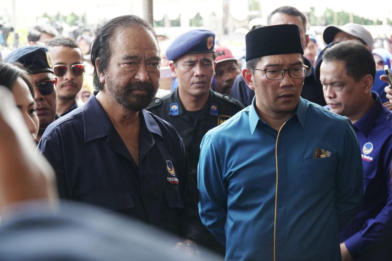 Ridwan Kamil Gagal Maju Pilgub Bila Cuma Diusung Nasdem