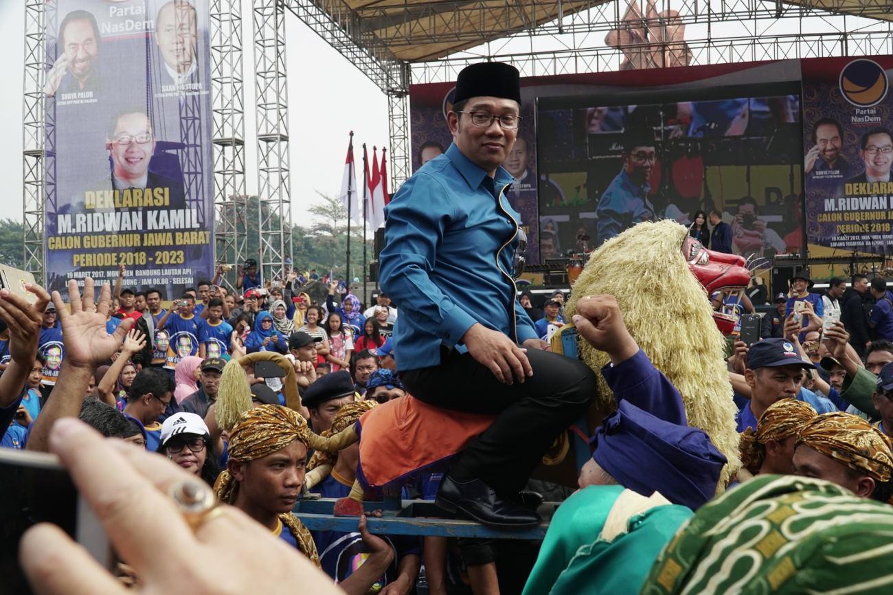 Komentar Pekerja Seni Soal Ridwan Kamil Maju Cagub Jabar