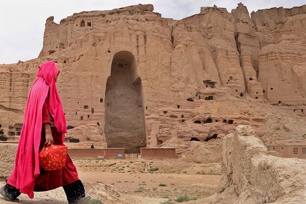 Patung Buddha Raksasa Itu Akhirnya Hancur di Tangan Taliban