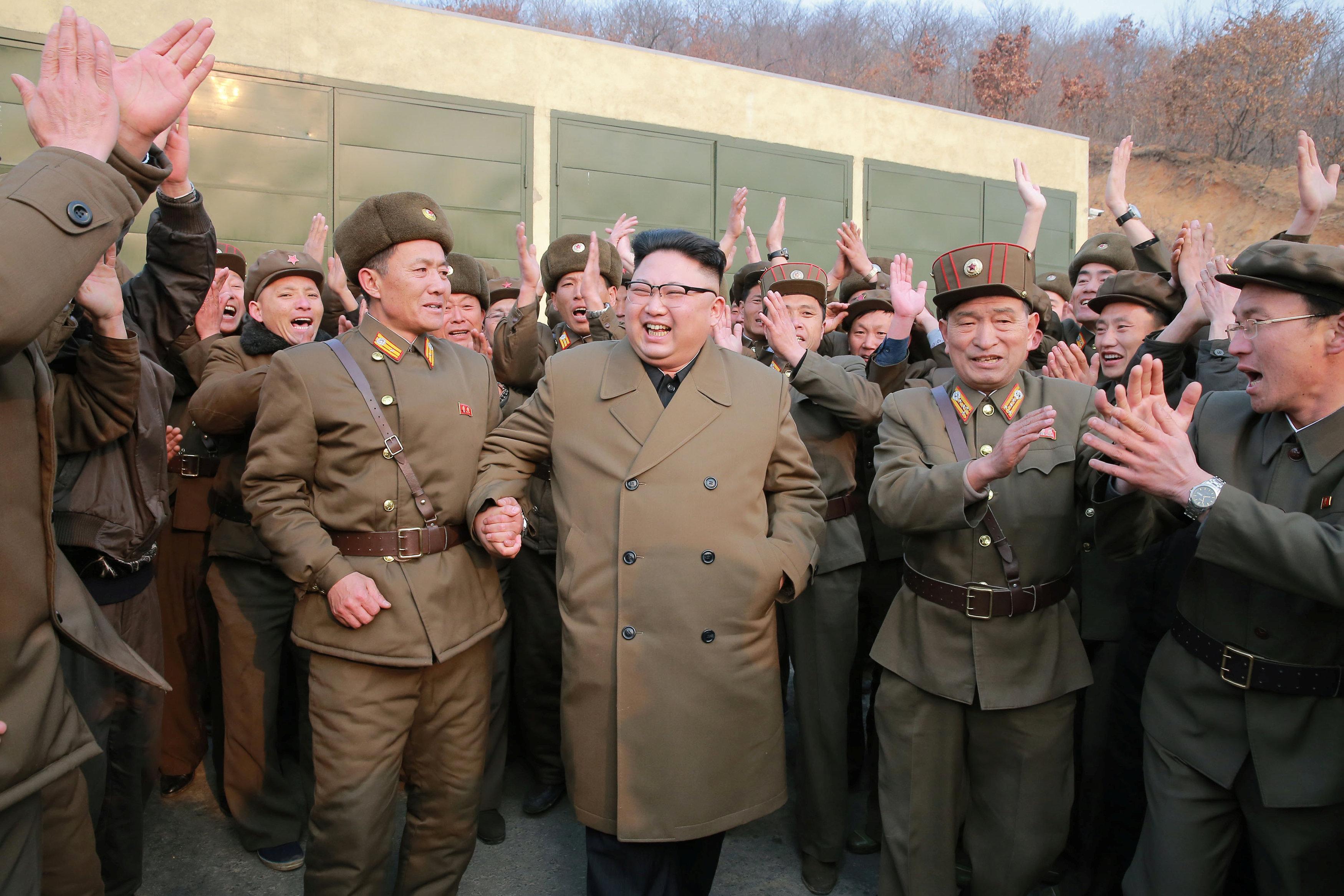 Korea Utara Sukses Gelar Uji Coba Mesin Roket Terbaru