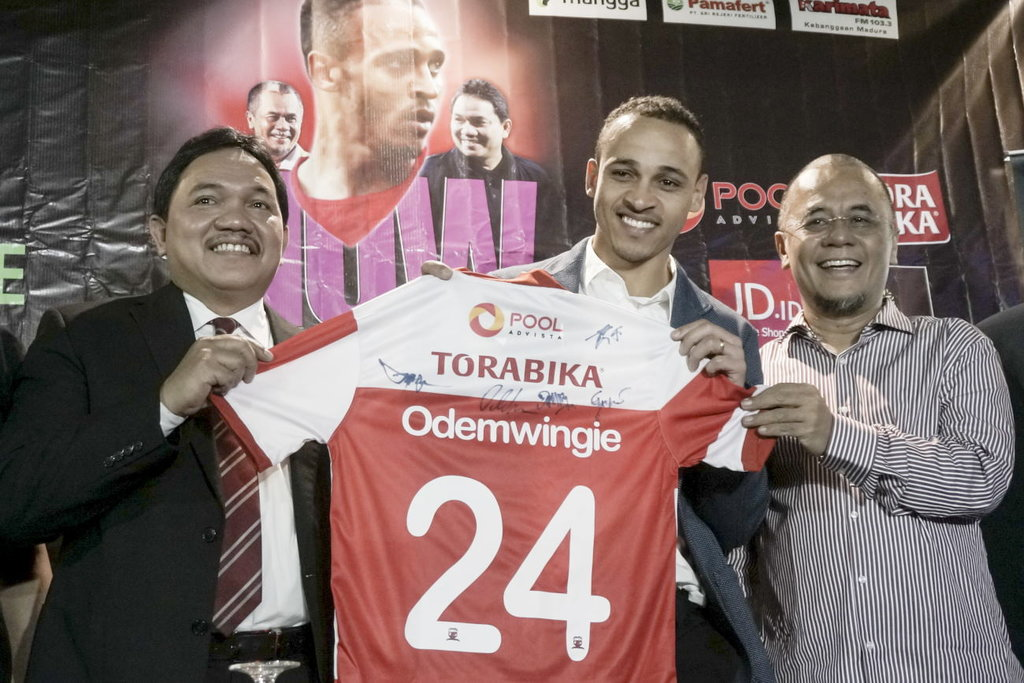 Hasil Liga Gojek Traveloka, Madura United vs PS TNI Skor 4-1