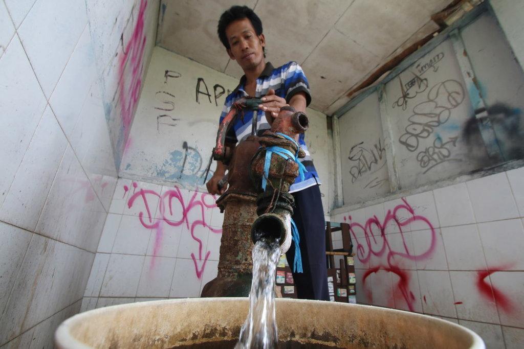 Pemprov DKI Jakarta Temukan 57 Sumur Air Tanah Ilegal