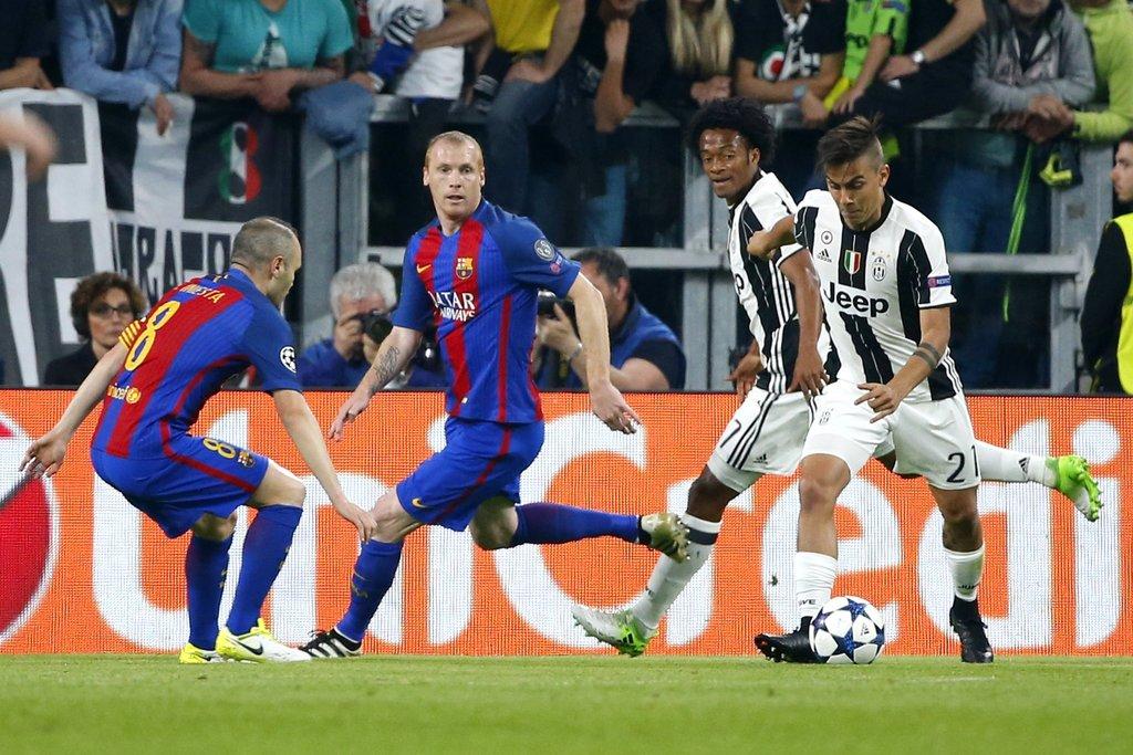 Soal Seni Pertahanan Juventus di Nou Camp