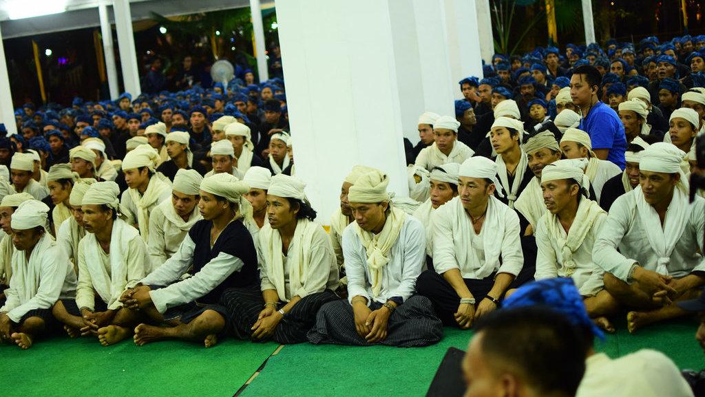 Masyarakat Badui Ingin Kepercayaan Sunda Wiwitan Ditulis di e-KTP