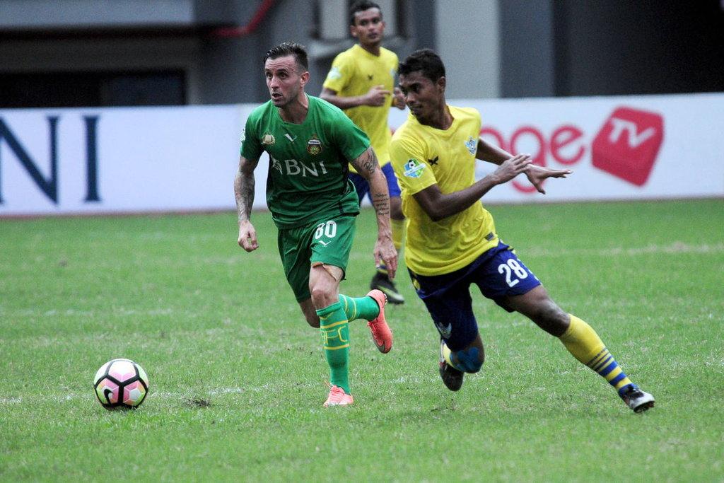 Hasil Liga Gojek Traveloka, Semen Padang vs Bhayangkara 1-0
