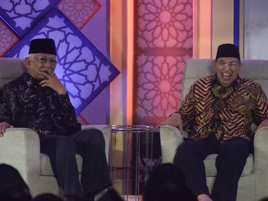Persahabatan Gus Mus dan Quraish Shihab