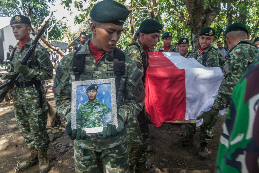 Jokowi Sampaikan Belasungkawa atas Gugurnya 4 TNI di Natuna