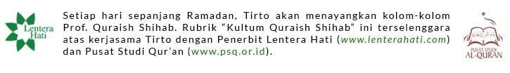 Kultum Quraish Shihab