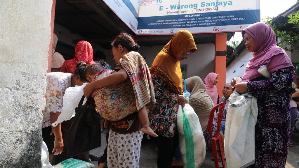 Hasil gambar untuk Bantuan Pangan Non Tunai