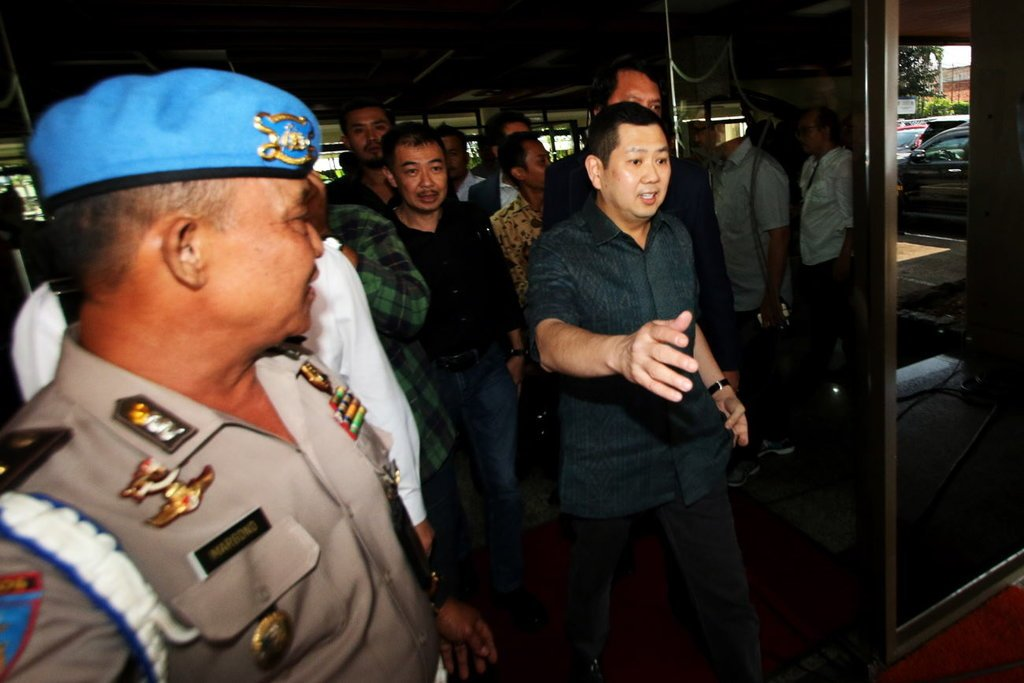 Hary Tanoe Laporkan Jaksa Agung M. Prasetyo ke Bareskrim