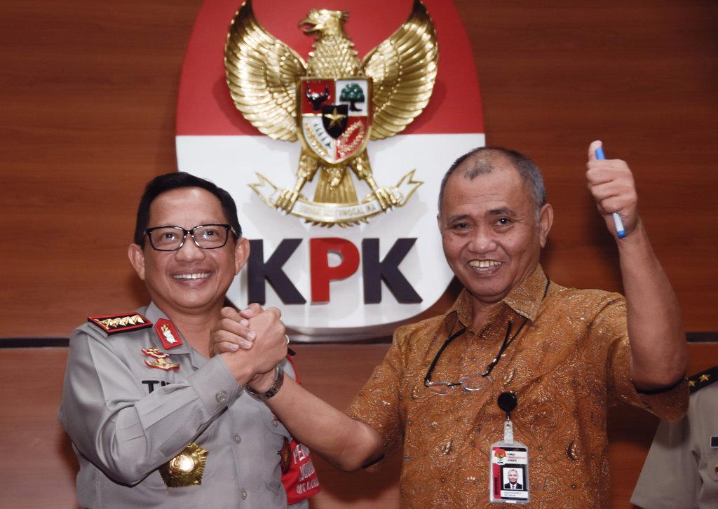 Polri Ajak KPK Kerja Sama Usut Kasus Penyerangan Novel
