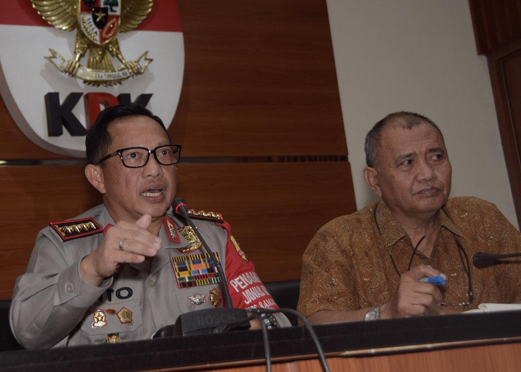 Kapolri Tegaskan Penyidikan Terhadap 2 Pimpinan KPK Bisa Dihentikan