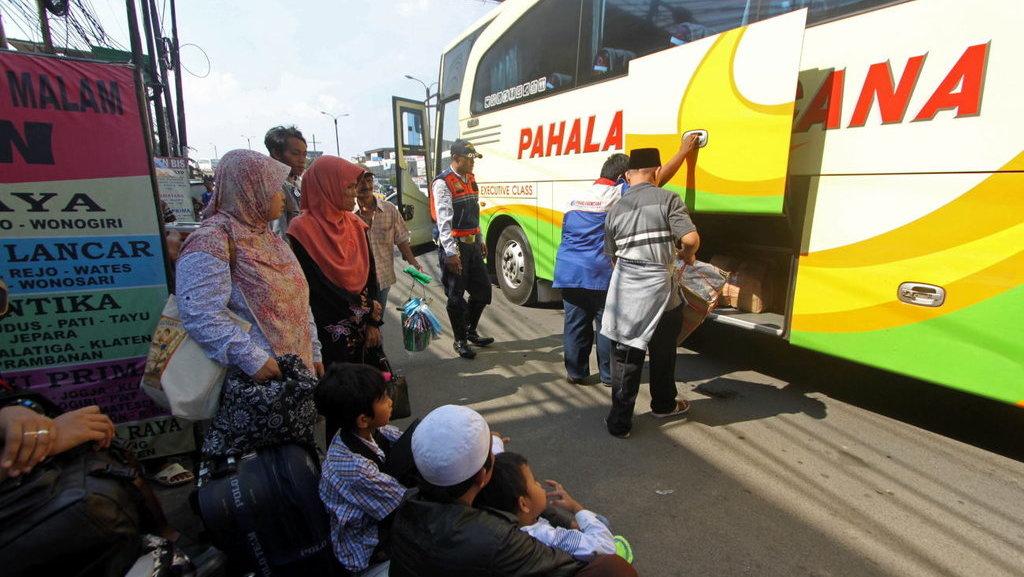 Dishub DKI Tambahkan 563 Bus Angkutan Mudik Lebaran 2017