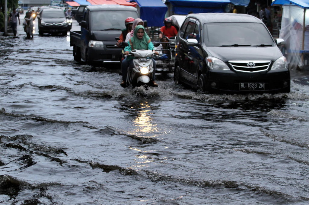 Banjir di Belitung Hari Ini Sebabkan Akses Jalan Terputus