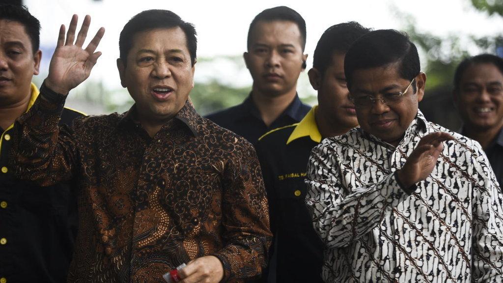 Setnov Masih Jabat Ketua DPR Meski Ditetapkan Tersangka