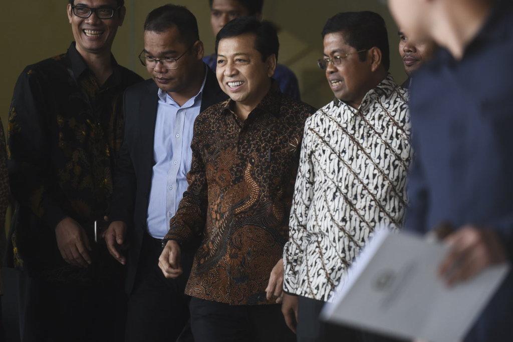 Setnov Tersangka, KPK Harus Bersiap Hadapi Serangan Politik